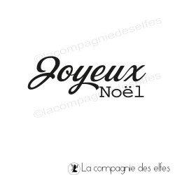 Tampon encreur joyeux noel | tampon joyeux noel