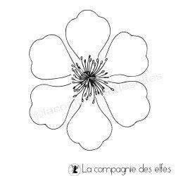 tampon fleur de printemps nm