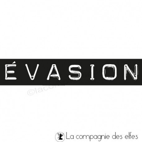 carte exotique 2/3 Tampon-evasion-nm