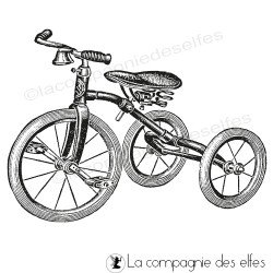 jouet ancien tricycle enfant tampon nm
