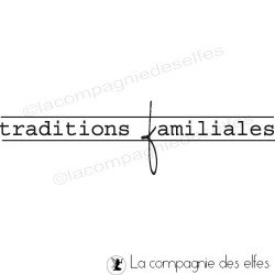 traditions familiales tampon nm