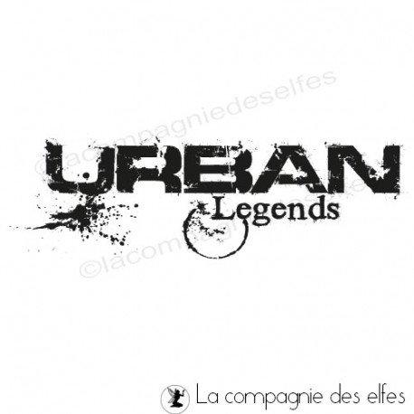 Tampon scrap urban | tampon encreur urban legends