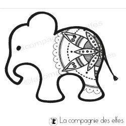 petit éléphant - tampon nm