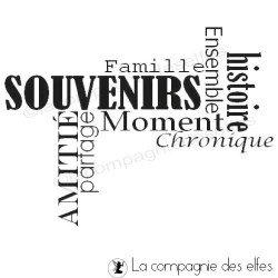 SOUVENIRS histoire Famille ... - tampon nm