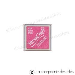 encre tissu textile rose pink