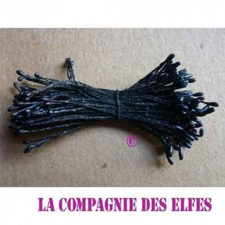 pistils 1 mm tête noire fines