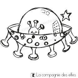 Tampon extra terrestre | alien stamp