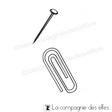 tampon trombone   tampon accessoire bureau