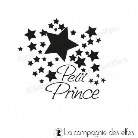 tampon petit prince | tampon faire part naissance