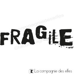 FRAGILE tampon nm