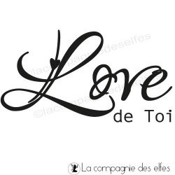 Love de Toi - tampon nm