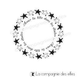 Tampon étoile | tampon scrapbooking étoile