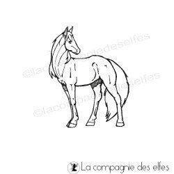 tampon encreur cheval | tampon encreur équestre