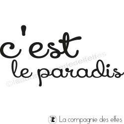 c'est le paradis tampon nm