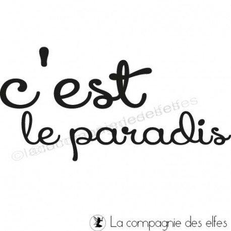 Tampon scrap paradis | tampon encreur paradis