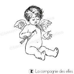 Tampon cupidon | cupidon angel stamp