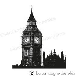 big ben rubber stamp | tampon encreur big ben