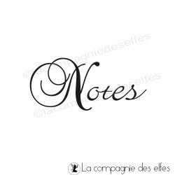 tampon Notes - non monté