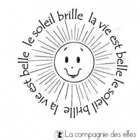 Les tampons de Sandrine Le-soleil-brille-la-vie-est-belle-tampon-nm
