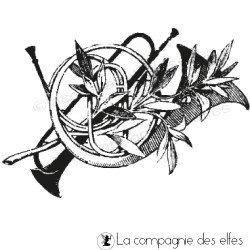 Tampon musique | tampon encreur musical