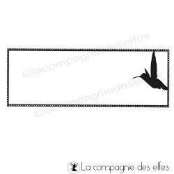 Tampon colibri | hummingbird stamp