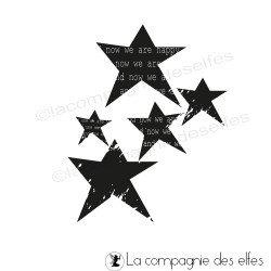 tampon étoiles stars - nm