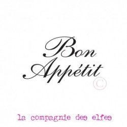 tampon bois Bon Appétit