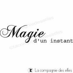 Magie d'un instant tampon nm