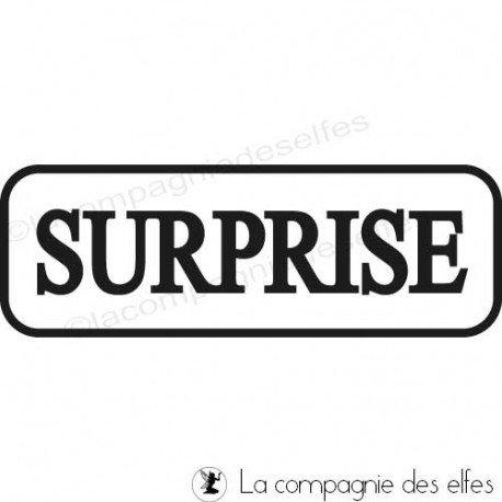 tampon encreur surprise   surprise stamp