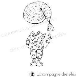 tampon Tenue pyjama pour Cannelle ou Léo - nm