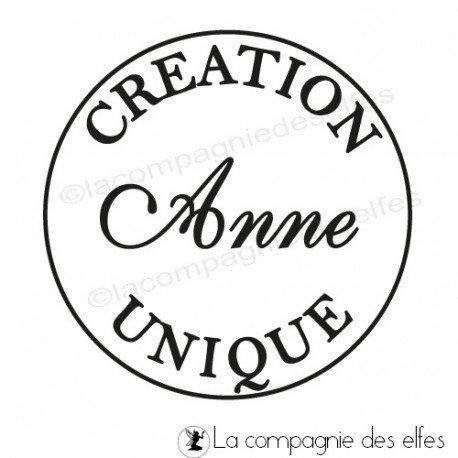 Tampon création unique | creation unique stamp