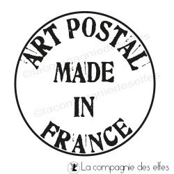 ART POSTAL MADE IN FRANCE Tampon nm