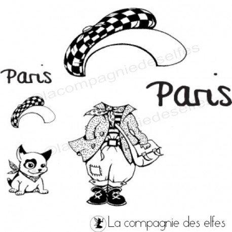 Tampon Paris | tampon titi parisien