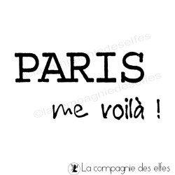 tampon encreur Paris