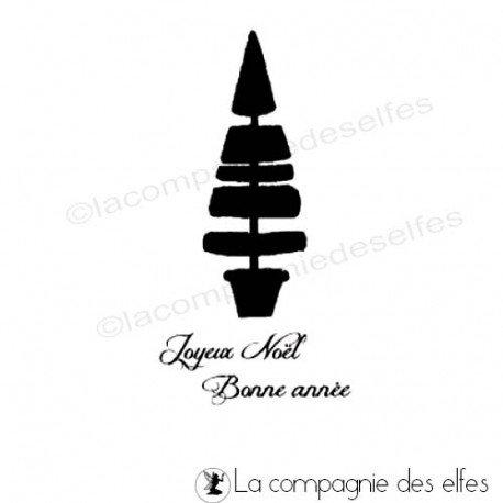 Challenge du 1er décembre sketch ATC. Joyeux-noel-bonne-annee-sapin-tampon-nm