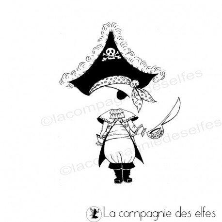 Tampon pirate corsaire