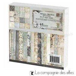 Nature garden collection   Nature garden paper stack
