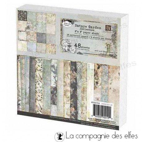Nature garden collection | Nature garden paper stack