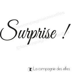Tampon surprise