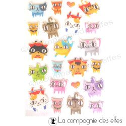 stickers chat | acheter autocollant chat