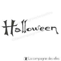 Tampon Halloween | halloween rubber stamp