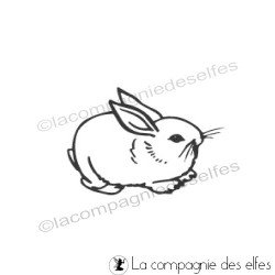 tampon lapin | rabbit stamp