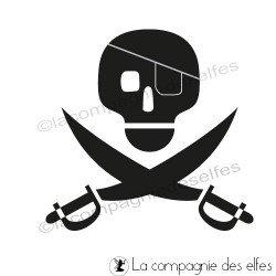 TAMPON pirate non monté