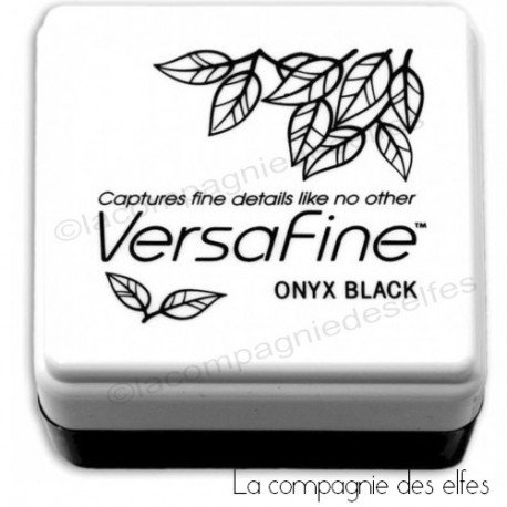 Carte vacances 1/3 Versafine-noir-onyx-black-pm