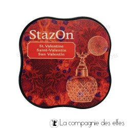 Encre stazon rouge | stazon rouge