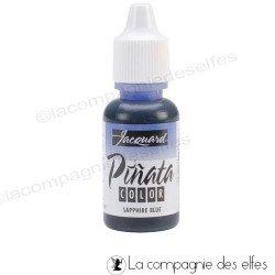 Pinata alcoohol ink | pinata sapphire bleu