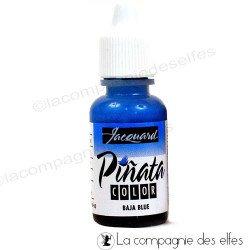 Encre alcool bleu blue pinata