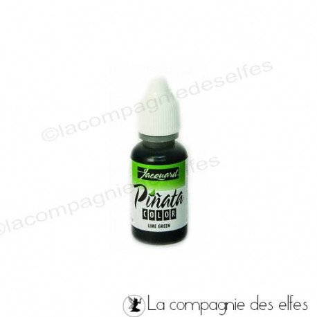 8 Avril 2019 tuto encre alcool yupo Sandrine V. programmé Encre-alcool-pinata-lime-green