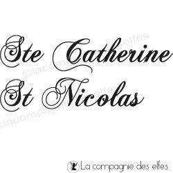 tampon Ste catherine St Nicolas nm